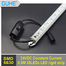 50cm waterproof dimmable constant current led rigid strip 12-30V dimmable light strip bar for car/boat/cabinet