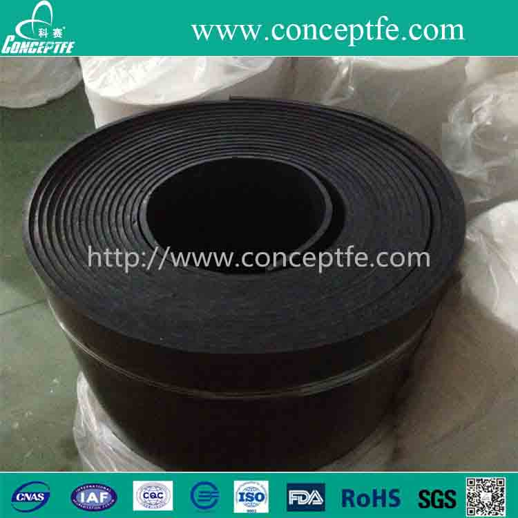 carbon graphite filling skived rolled PTFE teflon sheet