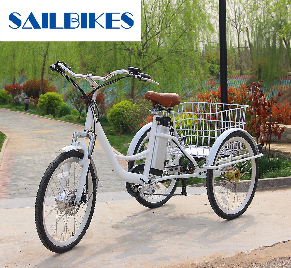 New Design Electric Tricycle Adults With 36v Battery