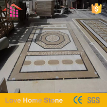 hot selling luxury model medallions patterns Marble Floor Design