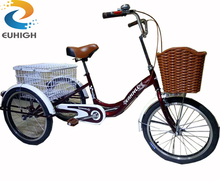 Utility tricycle for elderly