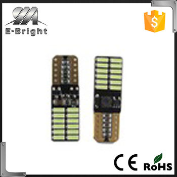 New Products T10 4014 24SMD Canbus Car LED Turn Signal Light 12V