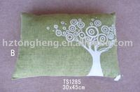 Printed Linen sofa cushions
