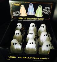 2017 CE factory making Ghost Decorating halloween night light