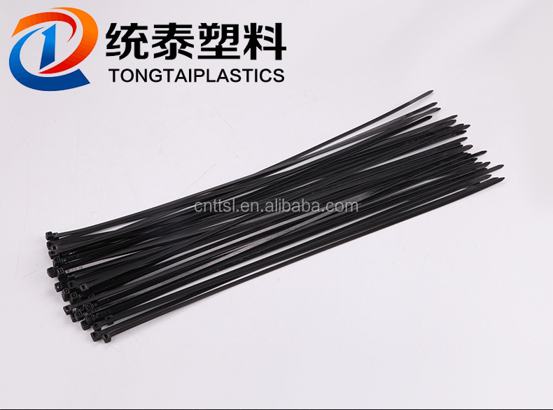 TTS 5*180 custom color nylon cable tie with high tensile strength