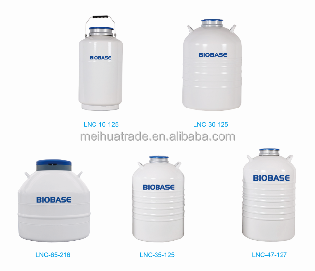 Biobase Liquid Nitrogen Container for Storage and Transportation/small capacity liquid nitrogen container