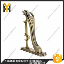 Modern style OEM design metal iron curtain bracket with different size