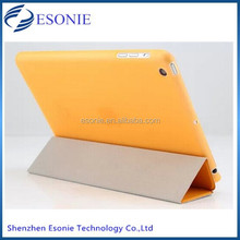 China manufacture for ipad mini stand leather smart case