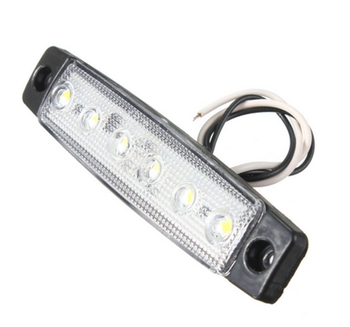6 Led Side Marker Lights for Trucks with E4