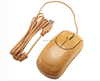 wholesale new product 2017 bamboo wood wired optical mouse bulk computer mouse