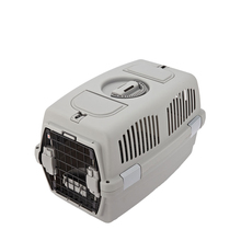 Dog products Top open plastic large size pet carrier exporter
