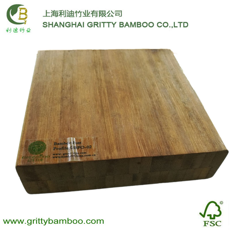 Gritty outdoor solid bulk laminated bamboo dimension lumber
