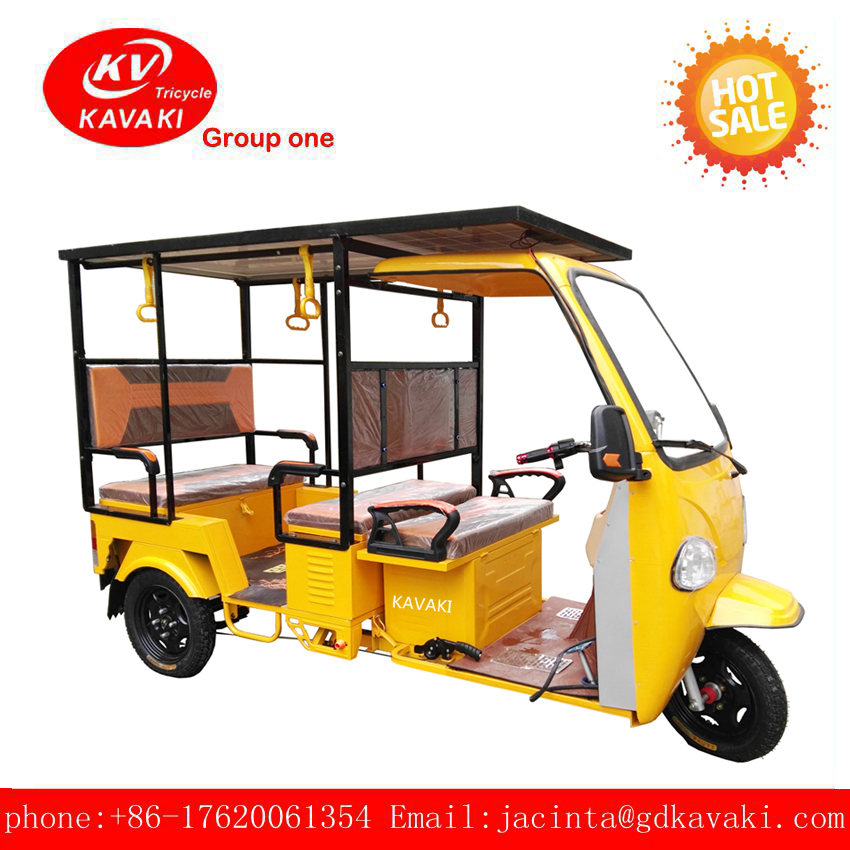 Large capacity climbing load truck, tuk tuk electric tricycle for adults