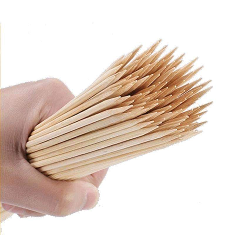 Bamboo Skewers Barbecue BBQ Tools bamboo BBQ skewers 40cm