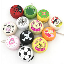 FQ brand Best Sell Cartoon Wooden 3D Kids Toy <strong>Yoyo</strong> for kids