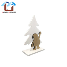 Table Decoration For Christmas Decoration Wooden Ornaments
