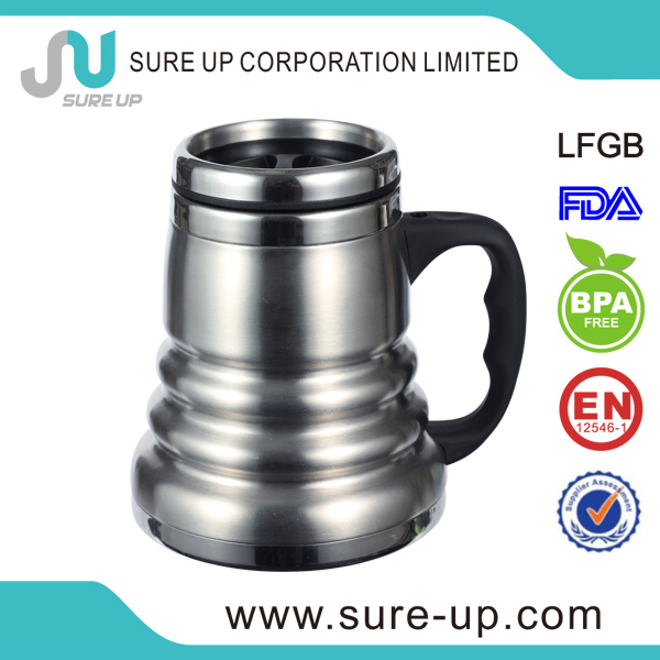 Useful stainless steel hot and cold mug (MSUV)