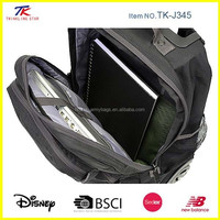 High quality 17 inch Rolling backpack laptop bags