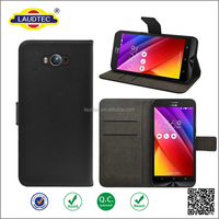 Genuine Leather Case Wallet Cover With Magnetic Buckle Luxury Full Card Flip Card Case For Asus Zenfone Max ZC 550kl
