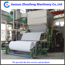 Waste paper recycling toilet tissue paper roll napkin making manufacturing machine production line price