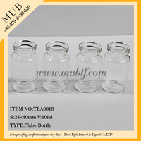 10cc vials for injections 10ml tubular glass sterile vials for antibiotics