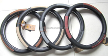 Leather Car Steering Wheel Covers /Leather Auto Steering Wheel Covers for Guangzhou