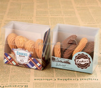 biscuit cookie box packaging , macaron plastic packaging for cookiers