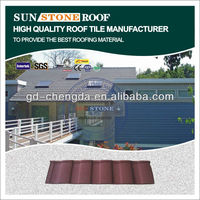 zinc coated color stone curving corrugated steel metal roof