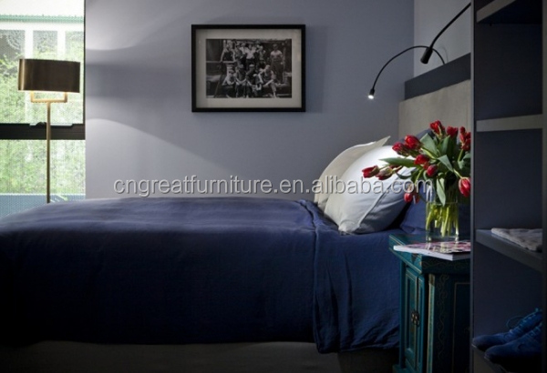 Bedroom set with contemporary bedroom design/Contemporary hotel furniture