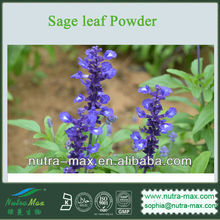 Sage leaf Powder (GMO Free & No-Irradiated from Source )