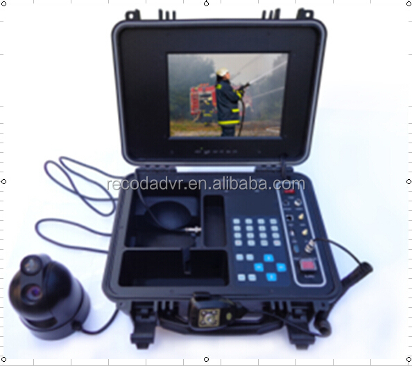 Car Accient Proof Mobile DVR Vehicle Mobile DVR Portable CCTV Emergency Command System With 3G and GPS Sony 480CP C811