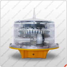 Solar aviation obstruction light /runway/taxiway/eiffel tower lighting with mounting bracket