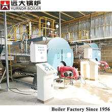 Best price natural gas diesel oil heavy oil fired laundry steam boiler machine