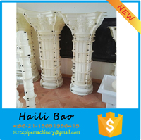 Roman pillars column molds ,cement colum,plastic mould