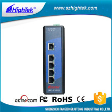 FCC 10/100/1000 industrial gigabit ethernet switch