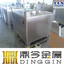 stainless steel IBC container for alcohol trasportation
