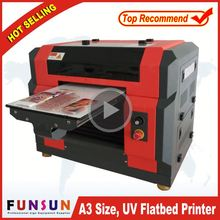 Funsunjet A3/A4 1440dpi plastic cover printing machine with dx5 head