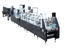 GS Series Fully Automatic high speed folding carton gluing machine/folder gluer/box gluing machine