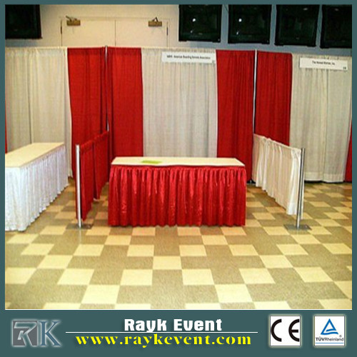 RK Adjustable Pipe _ Drape For Events Rental Stage Usage