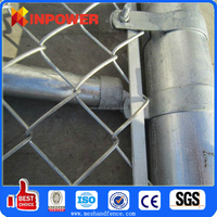 PVC Coated Rhombic Wire Fence
