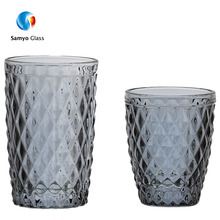 Wholesale colored drinking glassware home goods