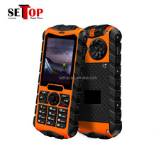 Huadoo H3 IP68 Military Rugged Outdoor Sports Waterproof 3G Cell Phone With Keypad 2.4 Inch Long Standby Dual SIM Mobile Phone