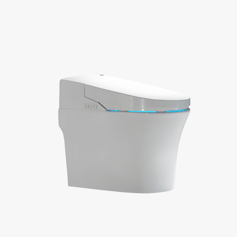 NEW trend super ceramic bathroom sanitary ware intelligent toilet with automatic flush