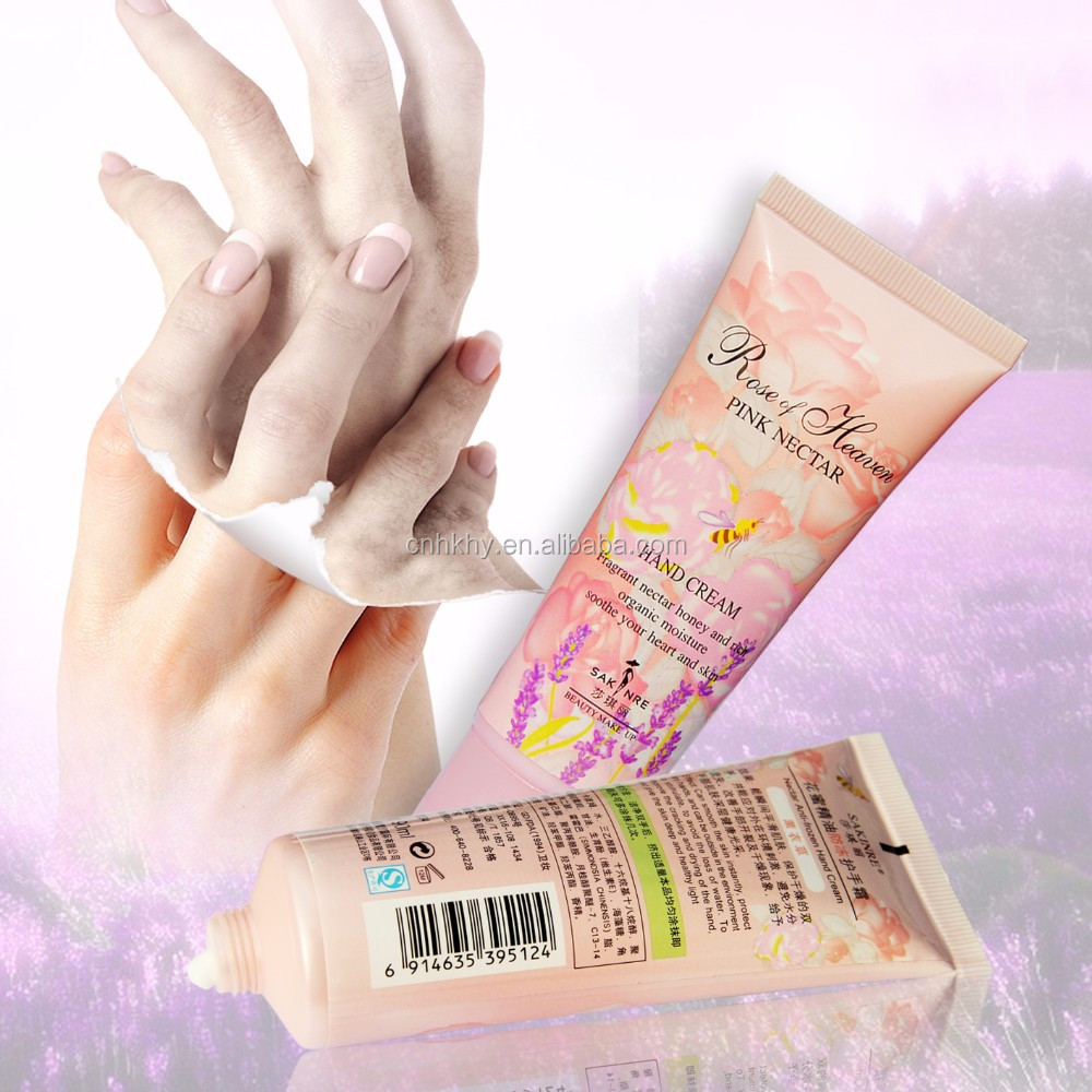 Deep Moisturizing Long Lasting Lavender Smell Hand Cream For Cracked Skin with SPF
