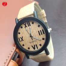 fashion wristwatch Natural handmade wooden watch for unisex with customised logo