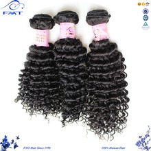 Alibaba 1b Natural Black Color Afro Kinky Curly Hair Extensions, 7A Cambodian Virgin Human Hair