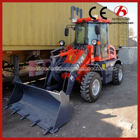 Hongyuan Brand CE Approved Small Wheel Loader two wheel tractor