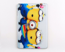 For minions tpu case for ipad case for low price mini laptop computer mobile phone case for ipad mini cover