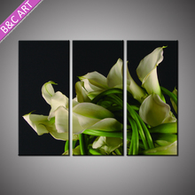 Restaurant Wall Decoration Multi Group Flower Canvas Art Impressionist Picture Printed Painting