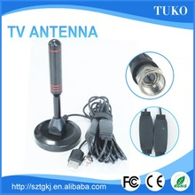 good signal indoor car tv antenna installation with strong magnetic